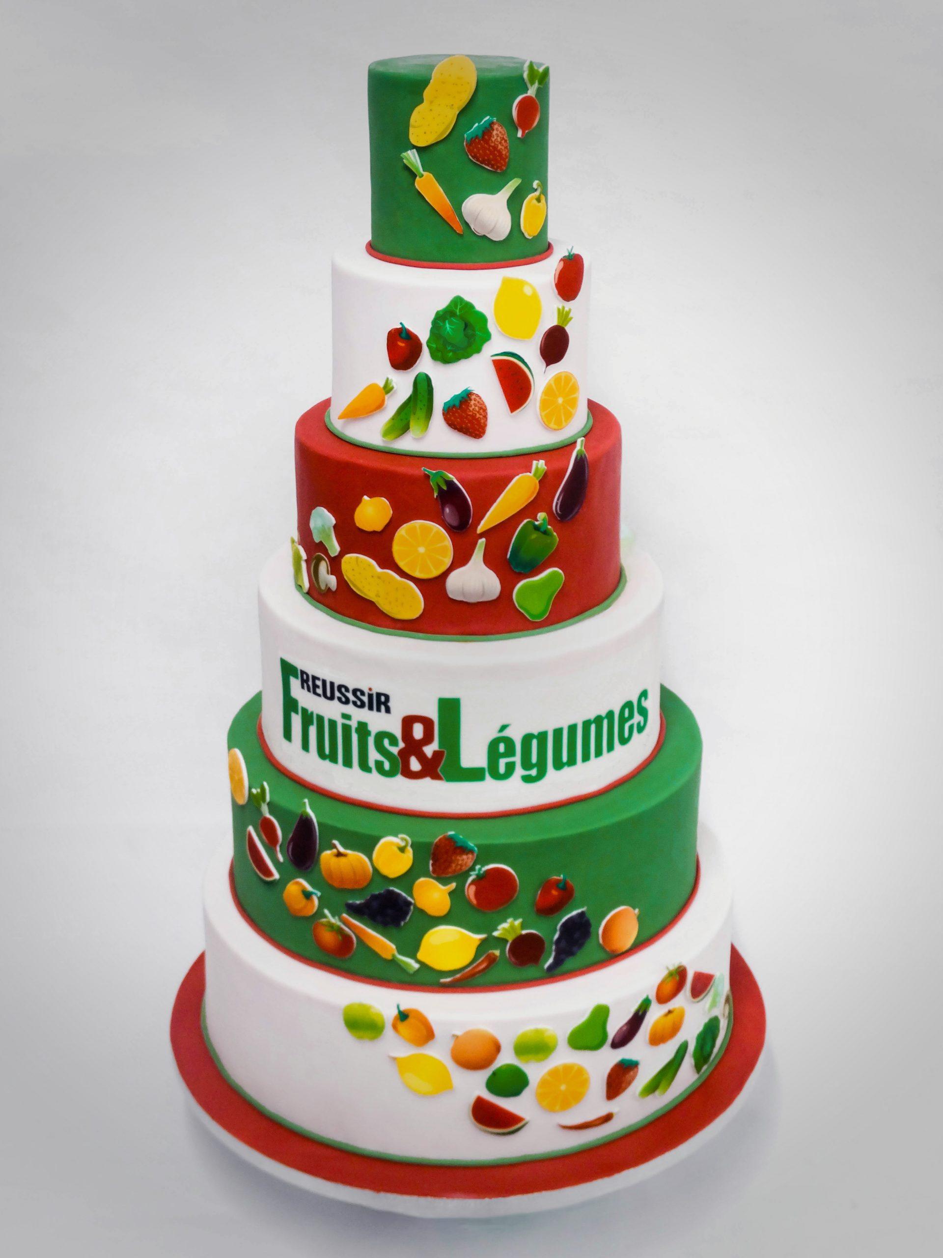 Anniversaire<br>Réussir Fruits & Légumes