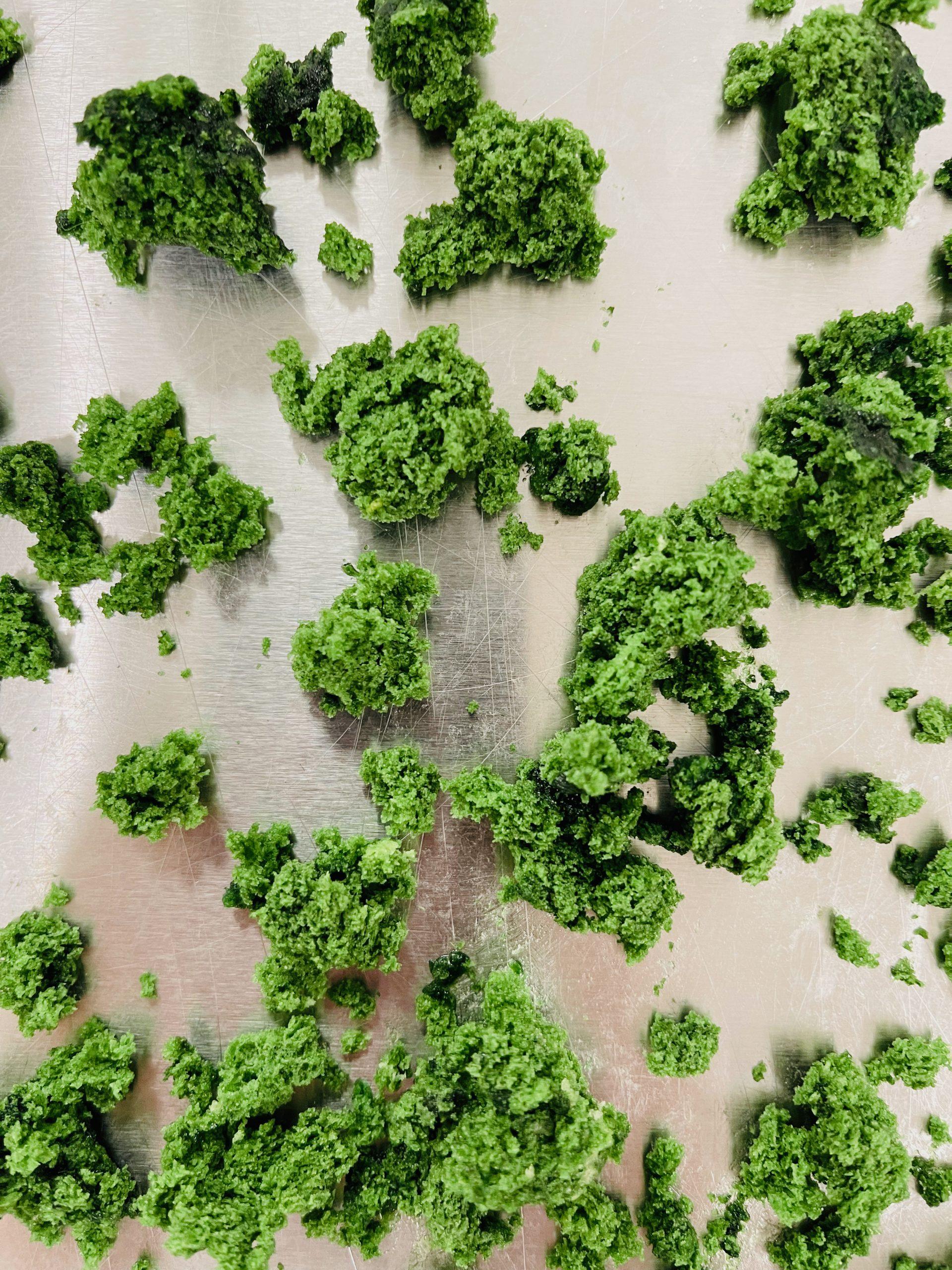 Mousse végétale comestible