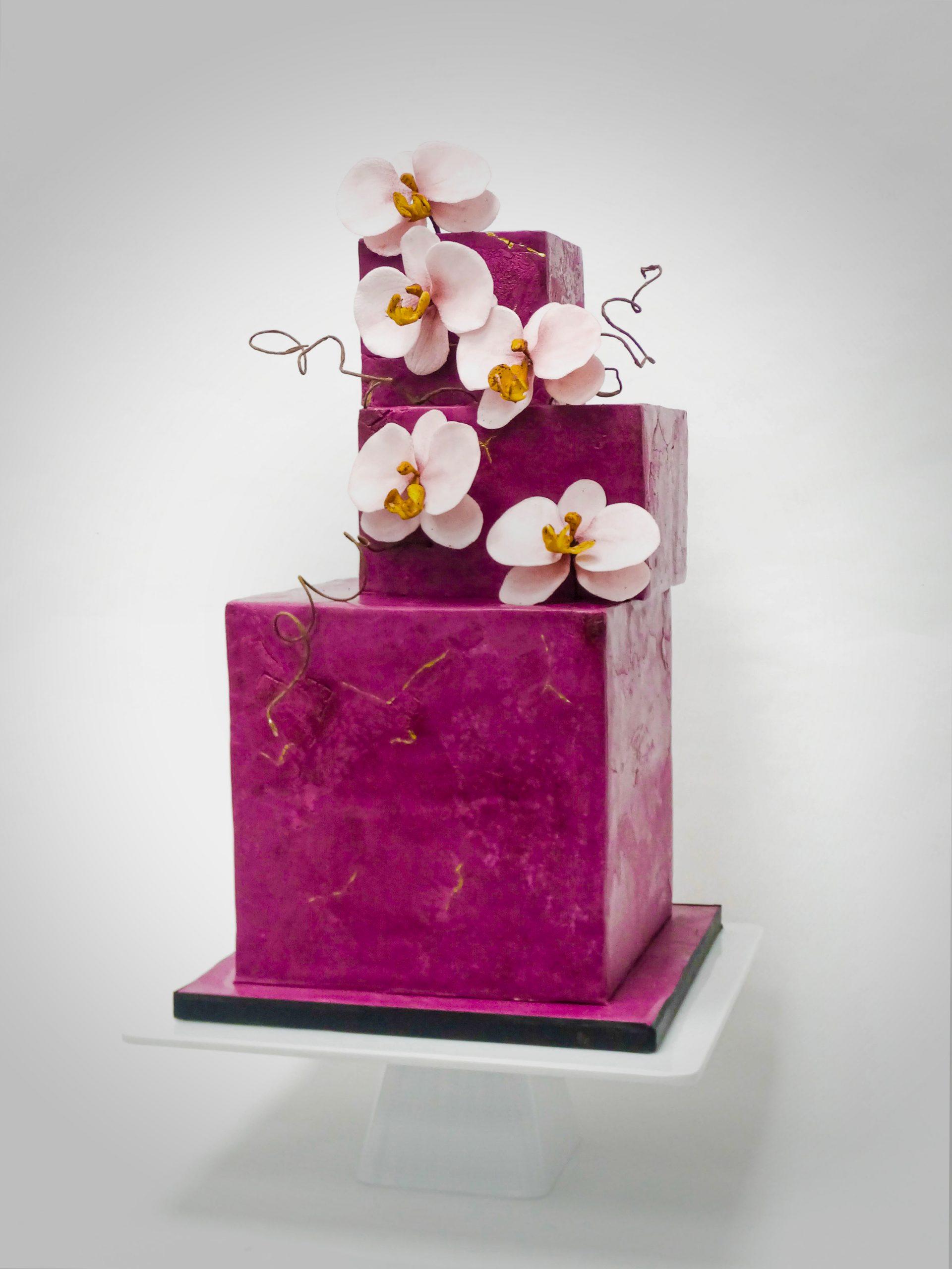 Anniversaire<br>Gâteau carré